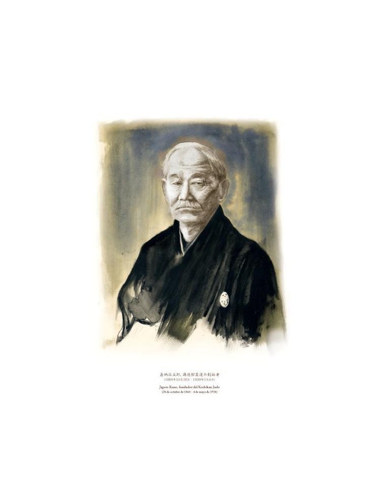 Jigoro Kano. Fundador del Judo (retrato)