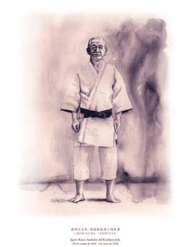 Jigoro Kano. Fundador del Judo (judogi)